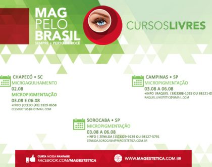 MAG PELO BRASIL -  02 A 06 DE AGOSTO