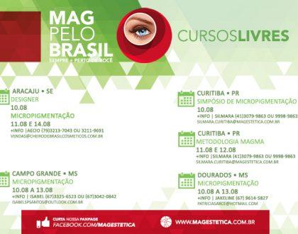 MAG PELO BRASIL - 10 a 13 de Agosto