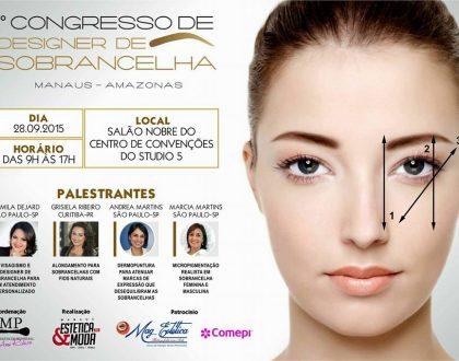Garanta sua vaga no 1º Congresso de Designer de Sobrancelhas do Brasil!