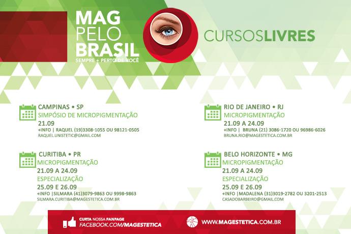 MAG PELO BRASIL - 21 a 26 de Setembro
