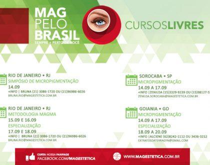 MAG PELO BRASIL - 14 A 20 DE SETEMBRO