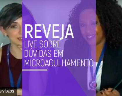 Reveja: Live tira dúvidas sobre microagulhamento