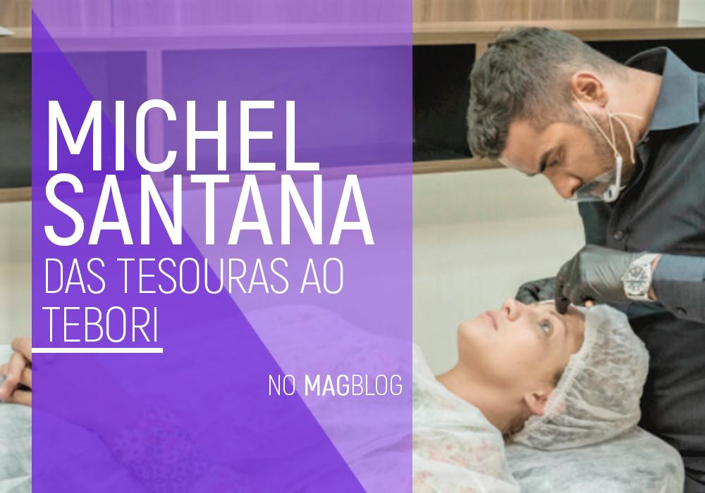 Michel Santana: Das tesouras ao tebori