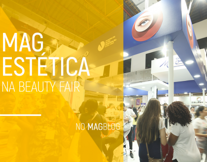 Mag Estética na Beauty Fair