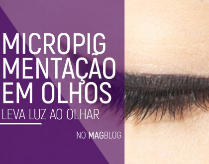 Micropigmentação em olhos leva luz ao olhar