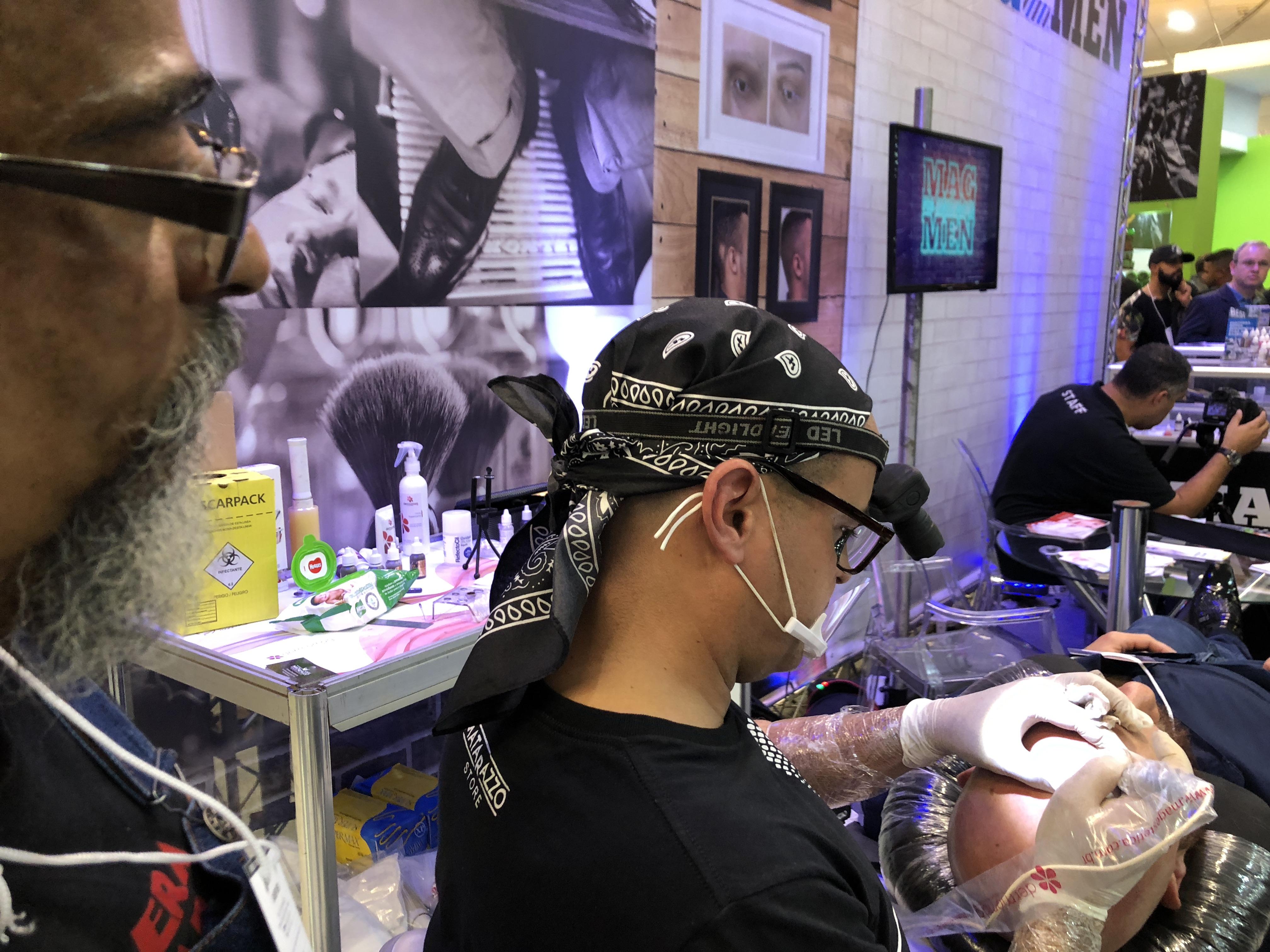 Mag apresenta novidade na Barber Week: micropigmentação para calvície