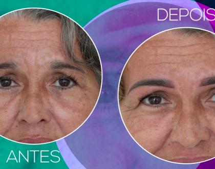 Novo episódio do Beleza Feita com Arte: como revitalizar sobrancelhas em peles maduras