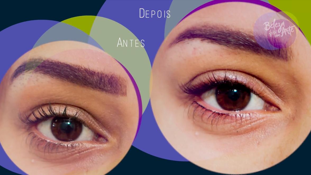 Delineador natural perfeito com micropigmentação