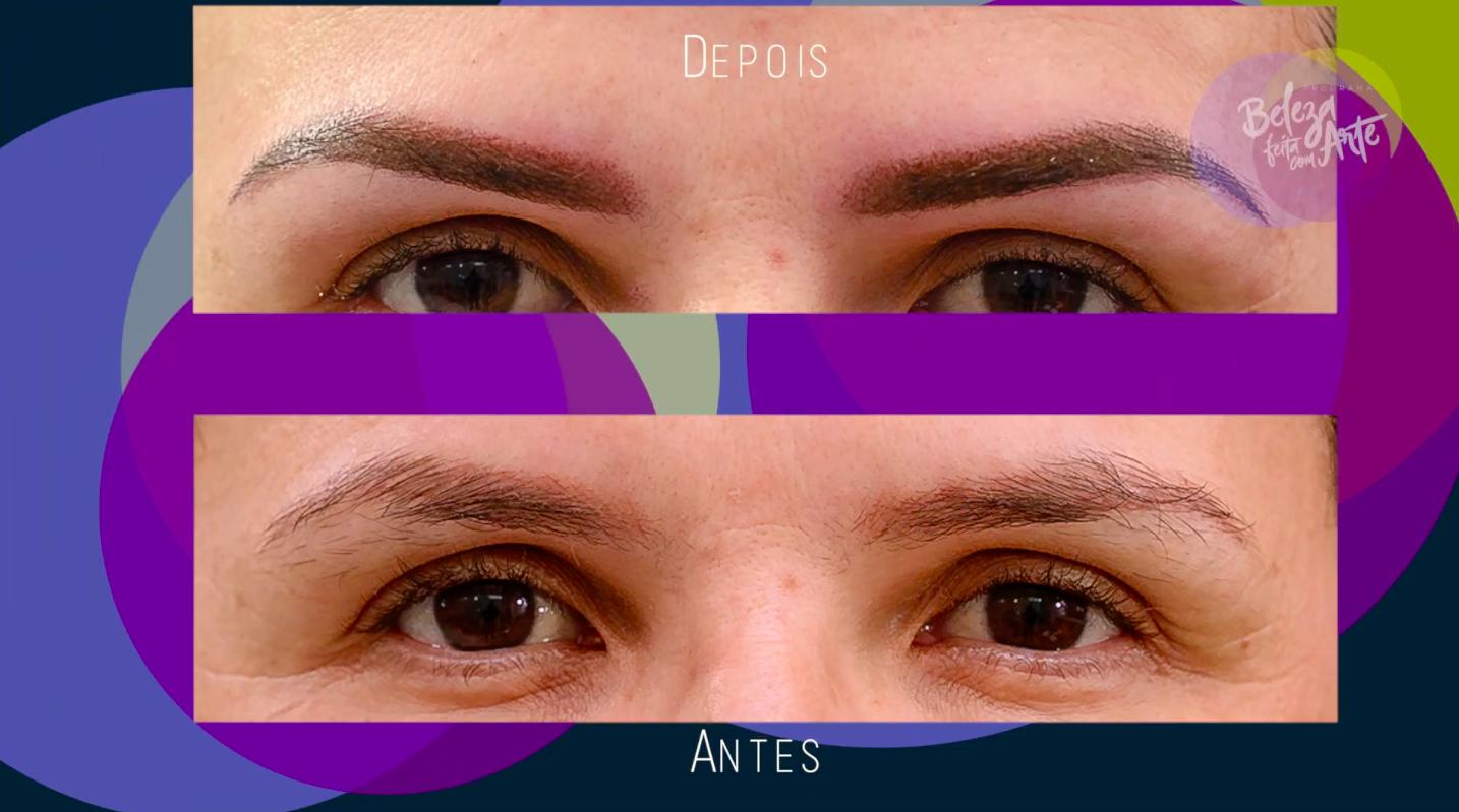 Aprenda a neutralizar sobrancelhas avermelhadas, no Beleza Feita com Arte